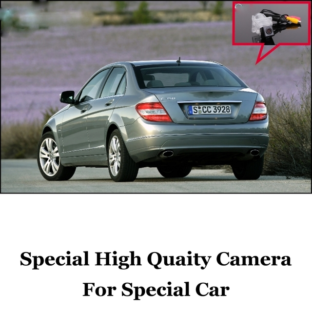 Car Camera For MB Mercedes Benz C Class W204 Ultra HD reversing camera automobile rearview imag For Fans | CCD + RCA