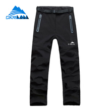 New Black Water Resistant Windbreaker Hiking Outdoor Pants Women Camping Trekking Trousers Climbing Pantalones Mujer Senderismo