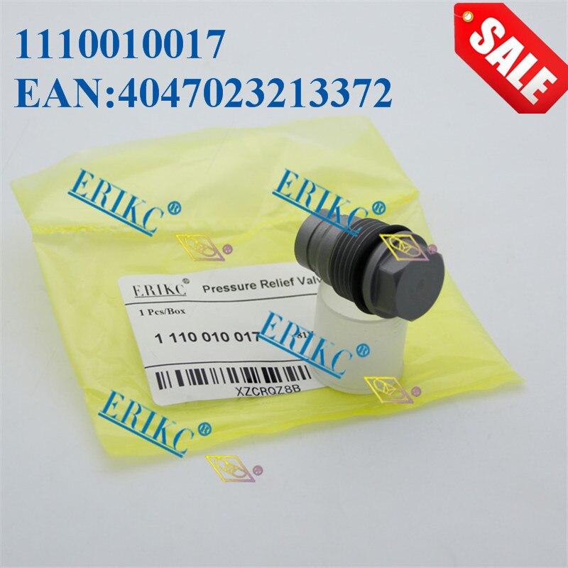ERIKC Diesel Fuel Part Pressure Valve F00R000775 High Pressure Regulator Relief Valve Assy EAN 3165143306000 for Cummins 4899831