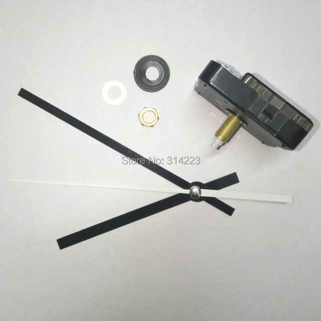 Free shipping New Quartz Clock Movement for Clock Mechanism Repair DIY clock parts accessories shaft 20mm JX005