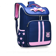 2019 dzieci w wieku szkolnym torby dziewczyny tornister ortopedyczne dziecięce plecaki plecaki do szkoły podstawowej księżniczka plecaki mochila infantil tanie tanio Torby szkolne Nylon Stałe zipper kids bags 0 67 SEVEN STAR FOX