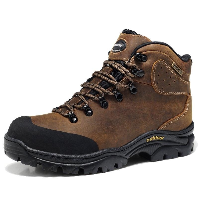 Genuine Leather Waterproof Winter Shoe