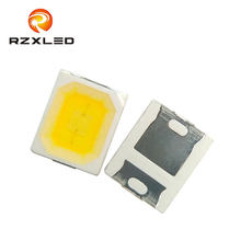 100 шт./лот светодиодный 0,5 W 6 V натуральный белый 4000 K 3800 K 4500 K 2835 посылка чип для ламповый модуль