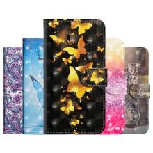 купить Flip Soft TPU+PU Leather Bag For Funda Alcatel ldol 5 Case Smooth SmartPhone Wallet Cover For Alcatel pixi 4 5.0 Case Coque дешево