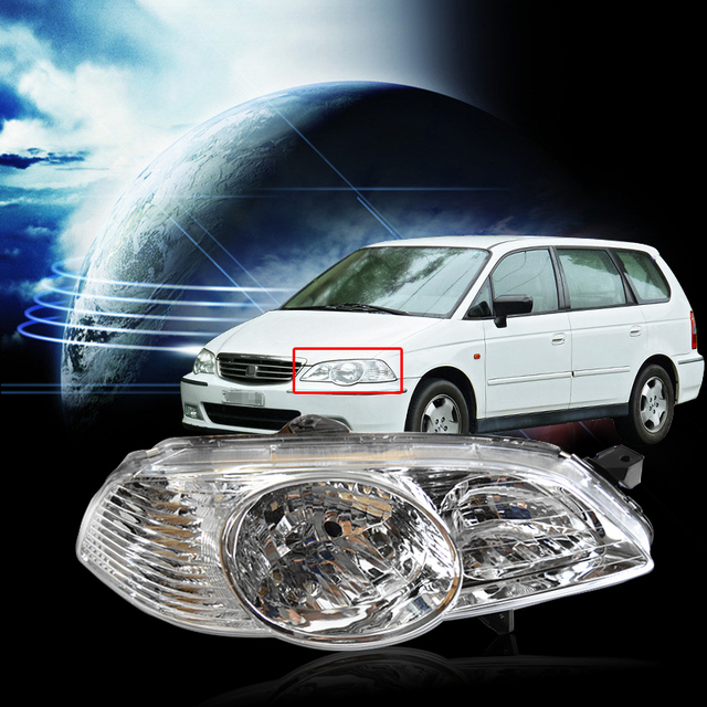 Capqx Left Right Front Per Headlamp For Odyssey Ra6 2002 2003 2004 Headlight Head Light 33151 Scp W01 33101