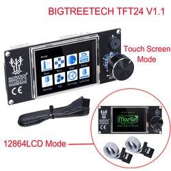BIGTREETECH TFT24 V1.1 Tela Sensível Ao Toque/Como 12864 Display LCD Painel 3D Peças Da Impressora Para SKR PRO SKR V1.3 VS MKS TFT24 TFT35 TFT28
