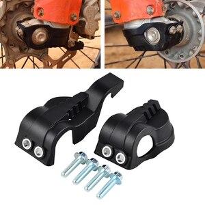 Image 1 - Motocykl widelec dno butów osłona Protector dla WP widelec KTM EXC XC XCF SX SXF EXCF Husqvarna FC/TC 125 501 motor terenowy części