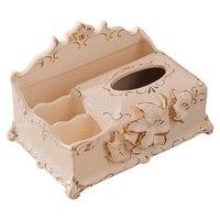 Soie Feuille Serviette Papier Porta Papel Toalha Paper Boite A Porte Mouchoir Car Tecidos Holder Cover Servilletero Tissue Box