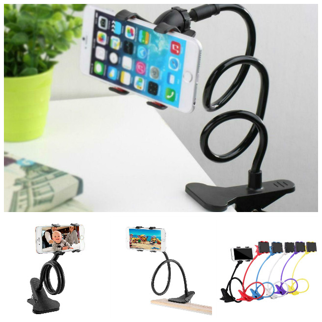 360 Degree Roating Flexible Phone Holder Stand For Mobile Long Arm Holder Bracket Support For Bed Desktop Tablet XXM8 ahd 4ch 1080n hdmi dvr 1080p 2 0mpp hd outdoor security ahd camera system 4 channel cctv surveillance dvr kit ahd camera set