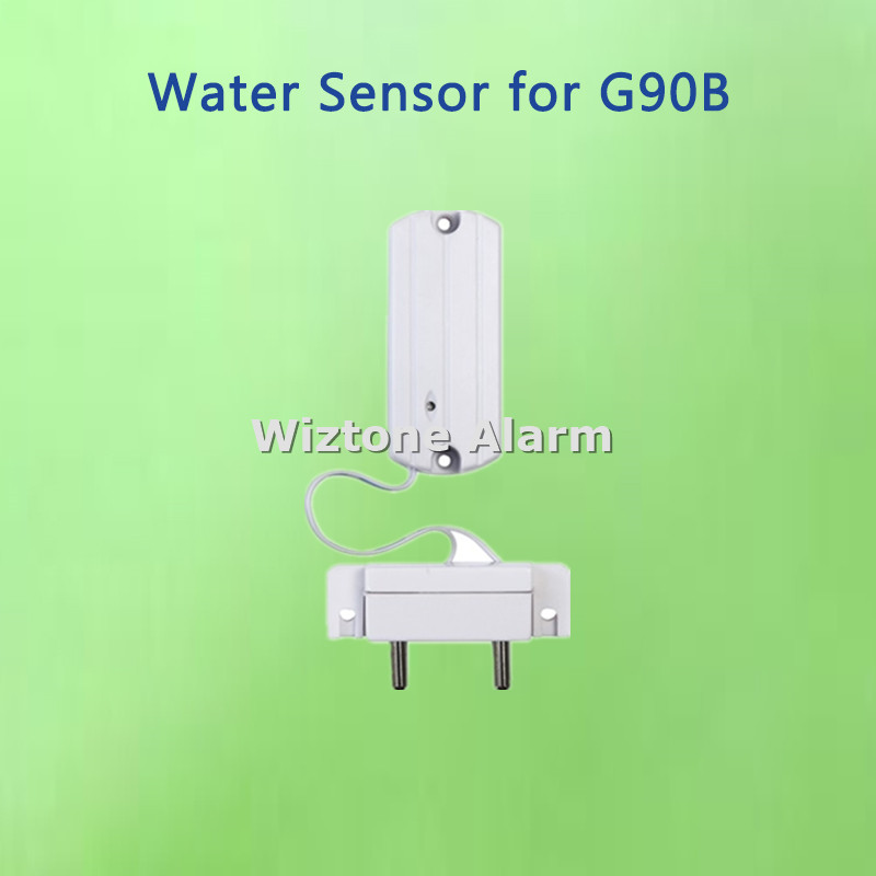все цены на 2pcs Wireless water leak sensor water leakage detection detector bathroom water flood sensor compatible with WiFi alarm G90B