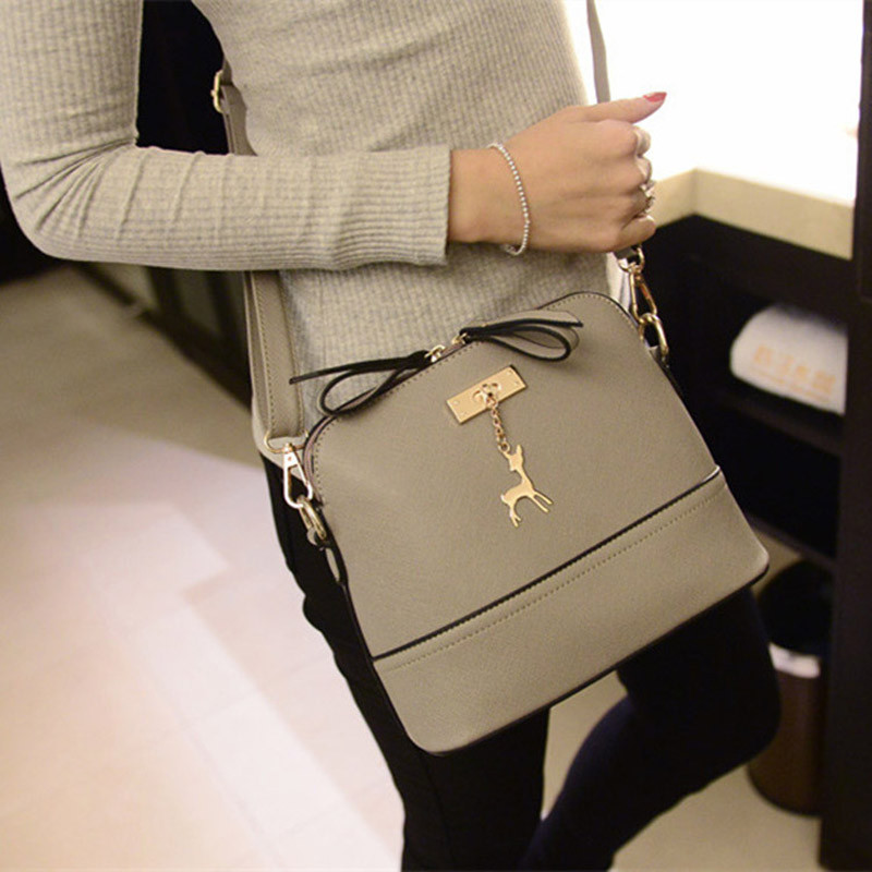 Aelicy Women S Messenger Bags Vintage Small Pu Leather Handbag Casual Bag Luxury Handbags Designer Shoulder