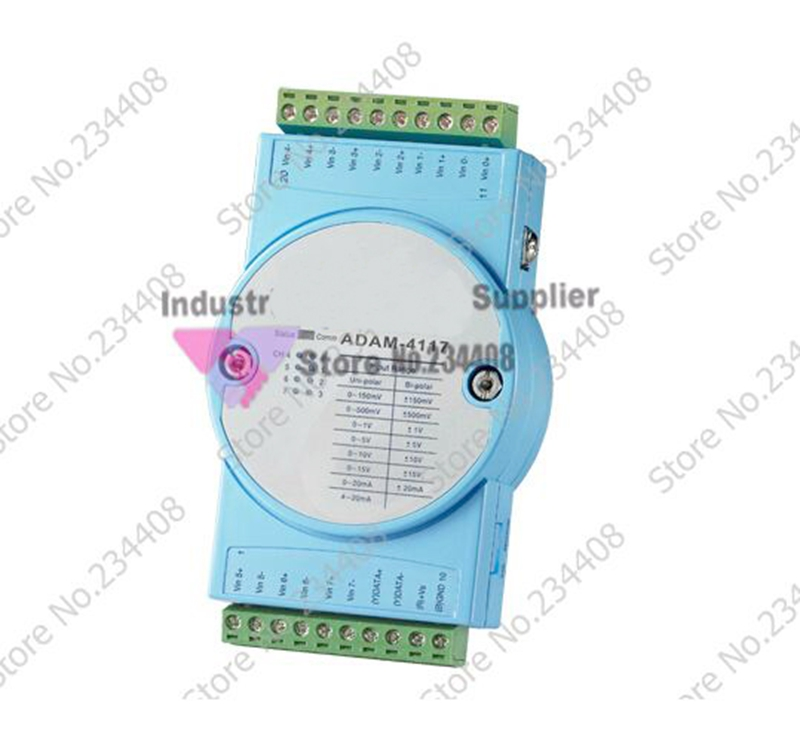 Data Acquisition Module ADAM-4117-AE Wide Voltage And Wide Temperature 8 Way Analog Input Module
