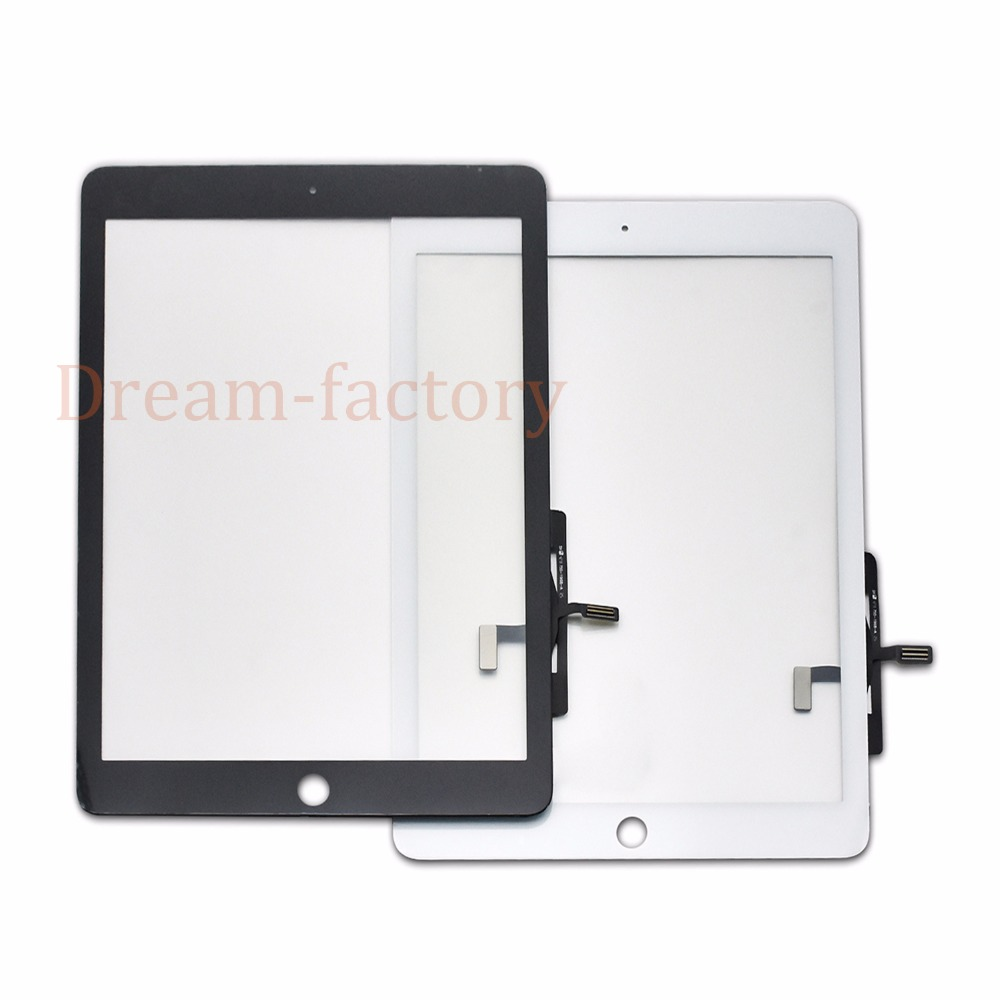 20pcs DHL for iPad air Touch Screen Digitizer Glass Panel Replacement A1474 A1475 A1476 No home
