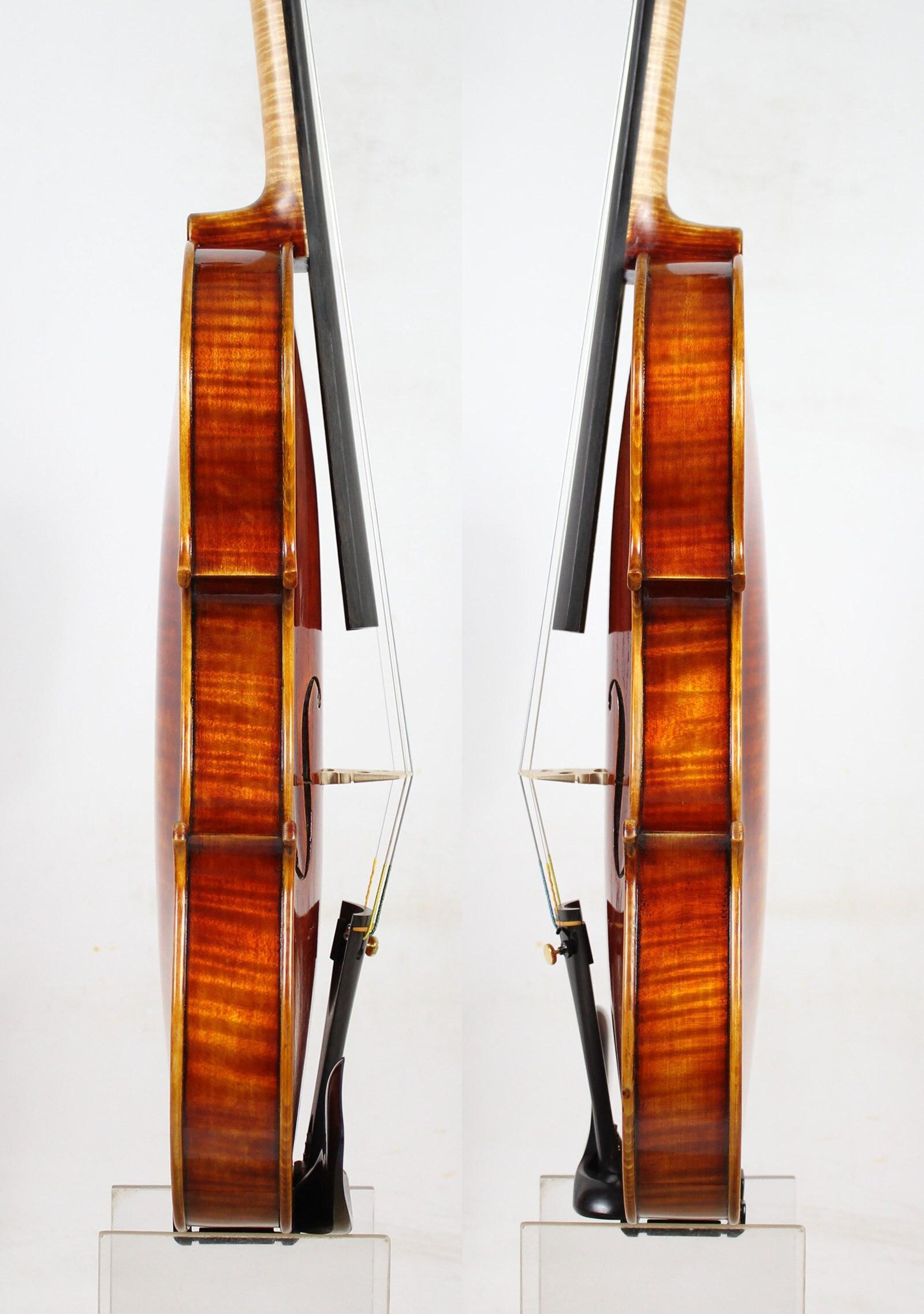 Master Violin Antonio Stradivari 1704 Copy Strong and DeepTone Free Shipping AUBERT Bridge Dominant 135B Strings in Violin from Sports Entertainment