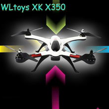 WLtoys STUNT XK X350 2.4GHz 4CH 6-Axis Gyro RC Helicopter Drone with Brushless Motor 3D 6G Mode X350 RTF VS H501S MZero Explorer