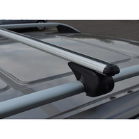 TUCSON ALUMINUM TOP ROOF RACK CROSS BARS CROSS RAILS LOCKABLE 2016-2018