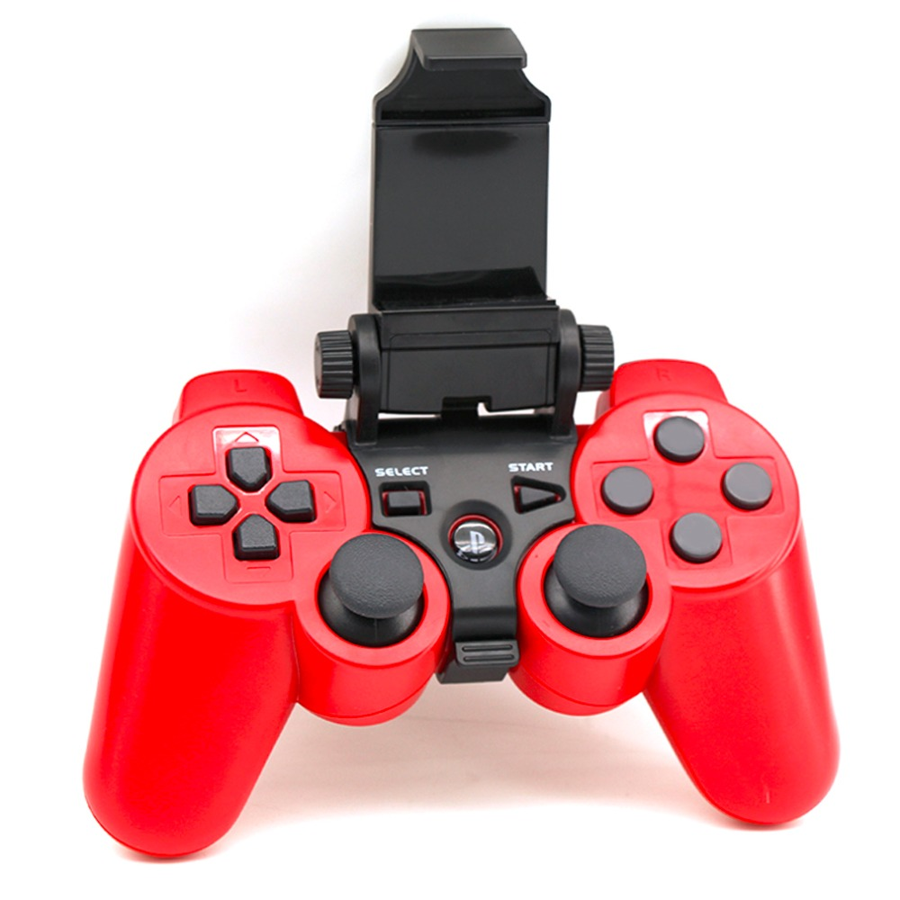 Universal Smart Gaming Controller Mount Holder Game Console Game Clip Handle Bracket For Sony Playstation 3 Black