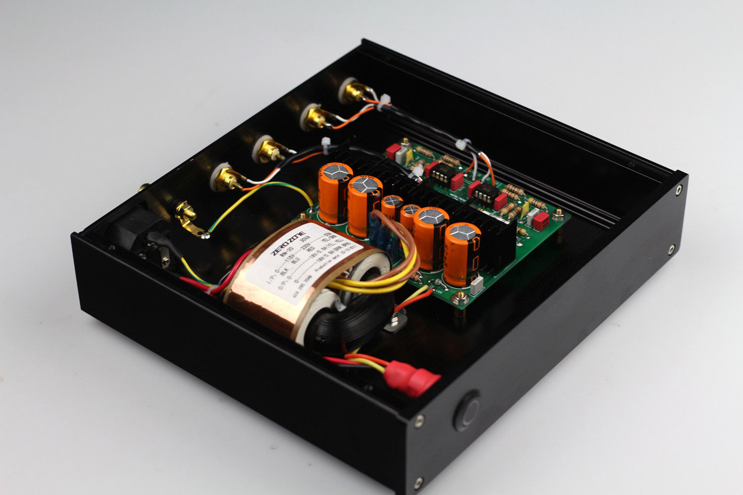 ZEROZONE (DIY KIT)RIAA MM Phono Turntable Preamplifier / base on DUAL MM LP  amp L4-13