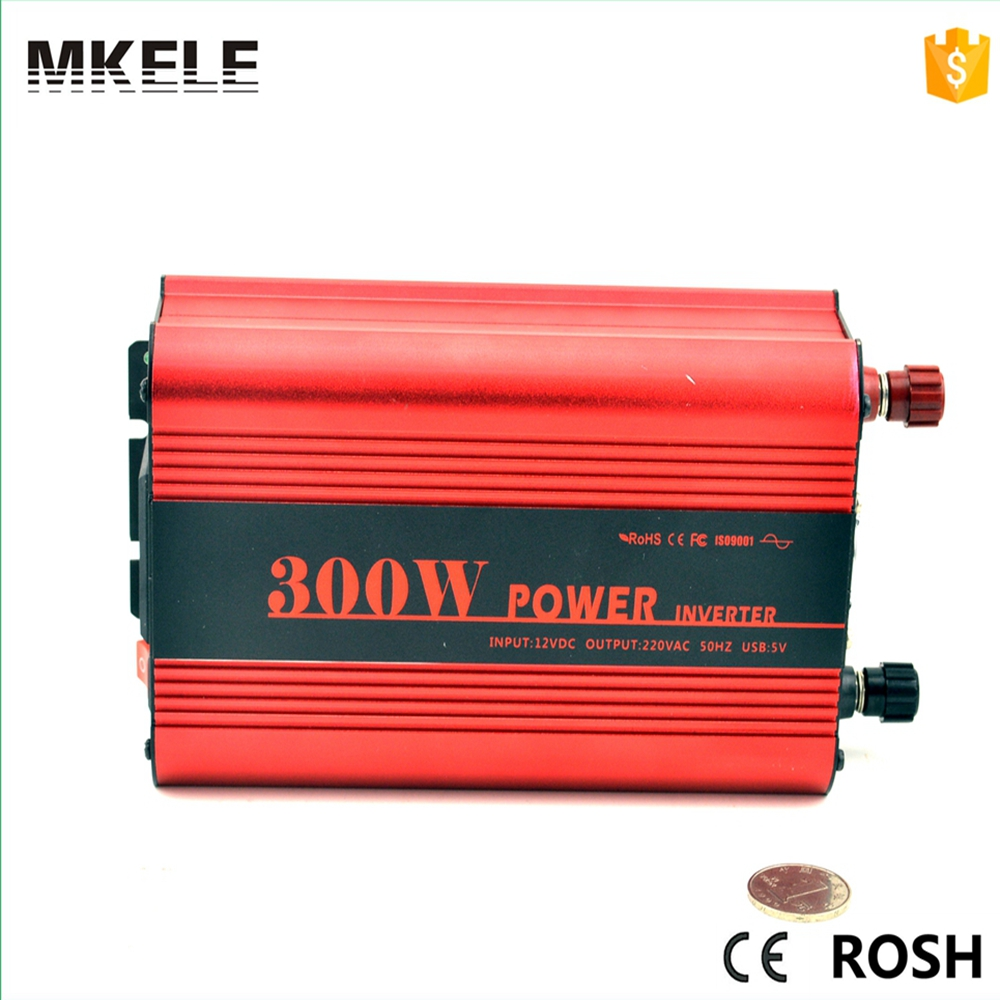 цена на MKP300-121R cheap power inverter 300w power inverter 12v dc to 110vac single output pure sine wave form with CE ROHS certificate