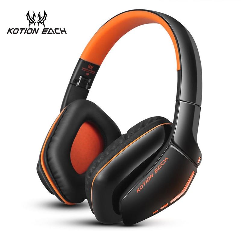 KOTION EACH Stereo Сымсыз құлақаспап Bluetooth - Портативті аудио және бейне - фото 1