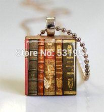 Buy scrabble tile pendant and get free shipping on aliexpress hzshinling old scrabble tile pendant ball chain included mozeypictures Gallery