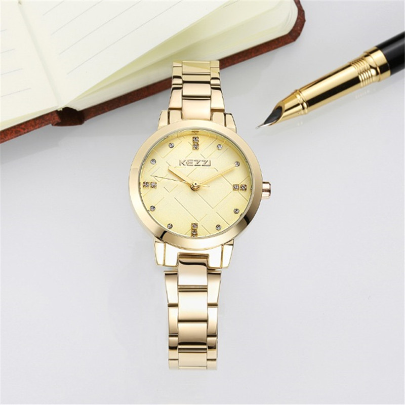 2016 New Fashion watch diamond special dial full stainless steel Quartz Watch Women Dress Watches For