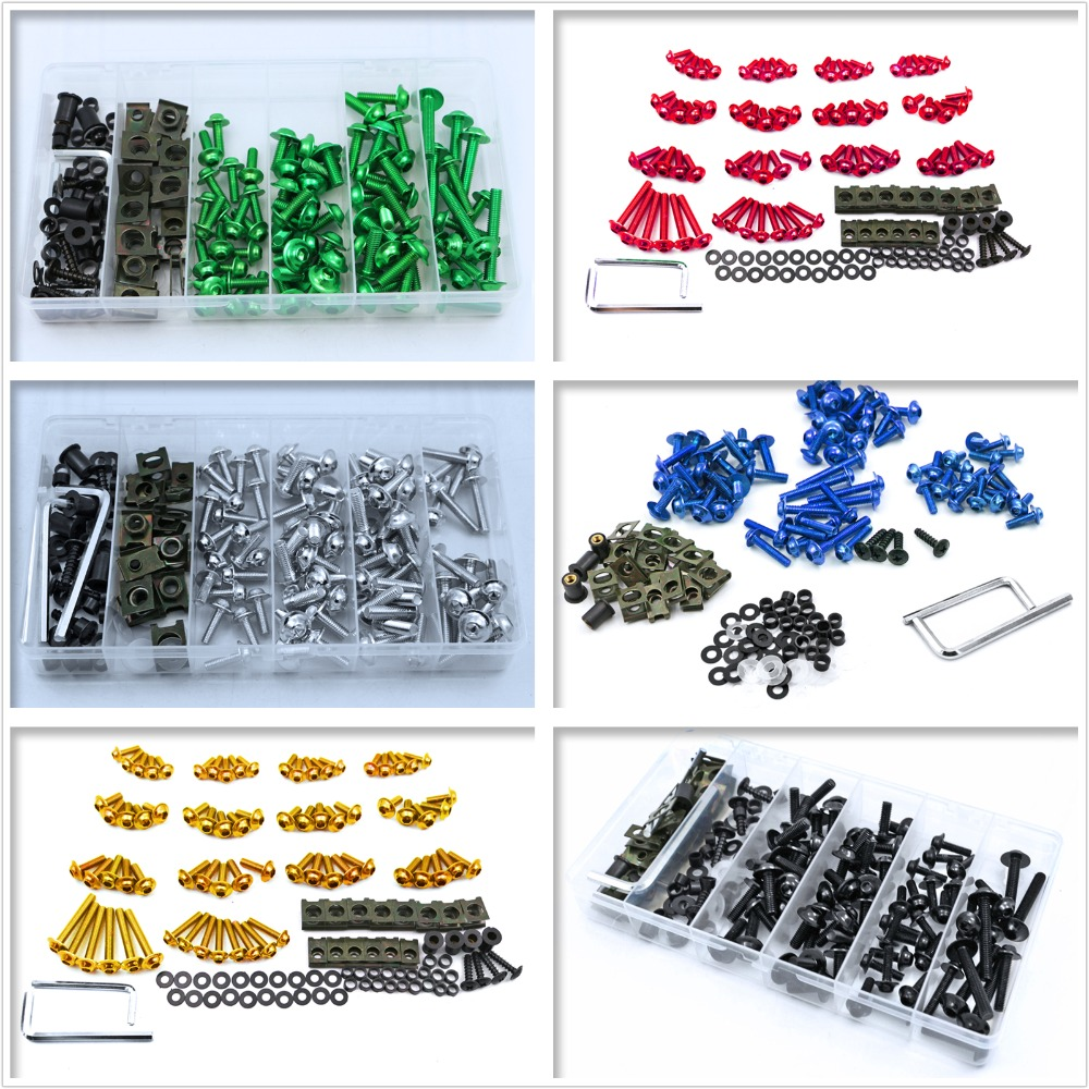 Cnc Fairing Bolts Screws Kit Fits For Triumph Daytona 675 675r 955i