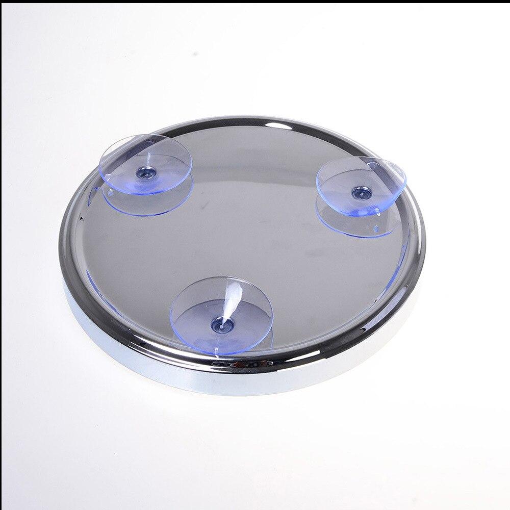 SpringQuan 8-Zoll-Metallspiegel Saugnäpfe an der Wand - Hautpflege-Werkzeug - Foto 3