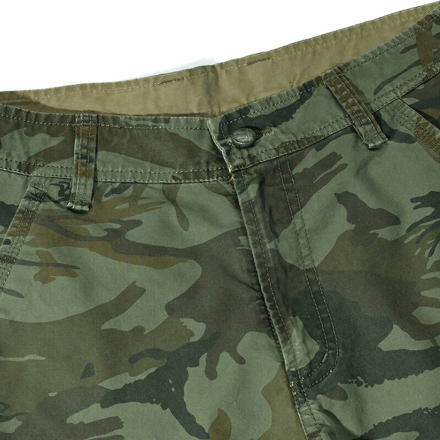 Camouflage Cargo Shorts Men 2018 New Mens Casual Shorts Male Loose Work Shorts Man Military Short Pants Plus Size 29-44 No Belt 3