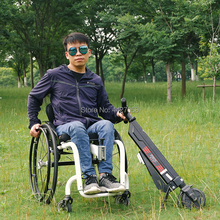 2019 Free shipping  Ultra-light lithium battery electric handcycle for wheelchair handcycle attachment handbike