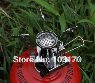 Picnic Camping Stove Gas Powered Butane Propane Stove Portable Lightweight Stove Retail