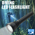 18650 фонарь для дайвинга 4000LM XHP70 светодиодный фонарик для дайвинга водонепроницаемый фонарь для подводной съемки 100 м тактический фонарь для ...