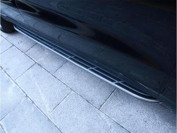 Kualitas Tinggi Paduan Aluminium + ABS Mobil Berjalan Papan Side Step NERF Bar Penjaga Cocok untuk Porsche Cayenne 2018 2019 2020