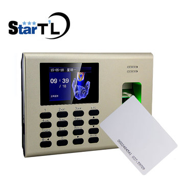 ZK K40 TCP/IP USB biometric fingerprint time attendance system Time Attendance With Built In Back Up Battery