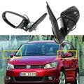 Подогрев электрического крыла боковое зеркало заднего вида для VW Touran MK2 Facelift 2011 2012 2013 2014 2015 Автомобиль-Стайлинг