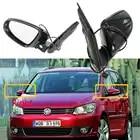 Электрический подогреваемый крыло боковое зеркало заднего вида для VW Touran MK2 Facelift 2011 2012 2013 2014 2015 авто Стайлинг