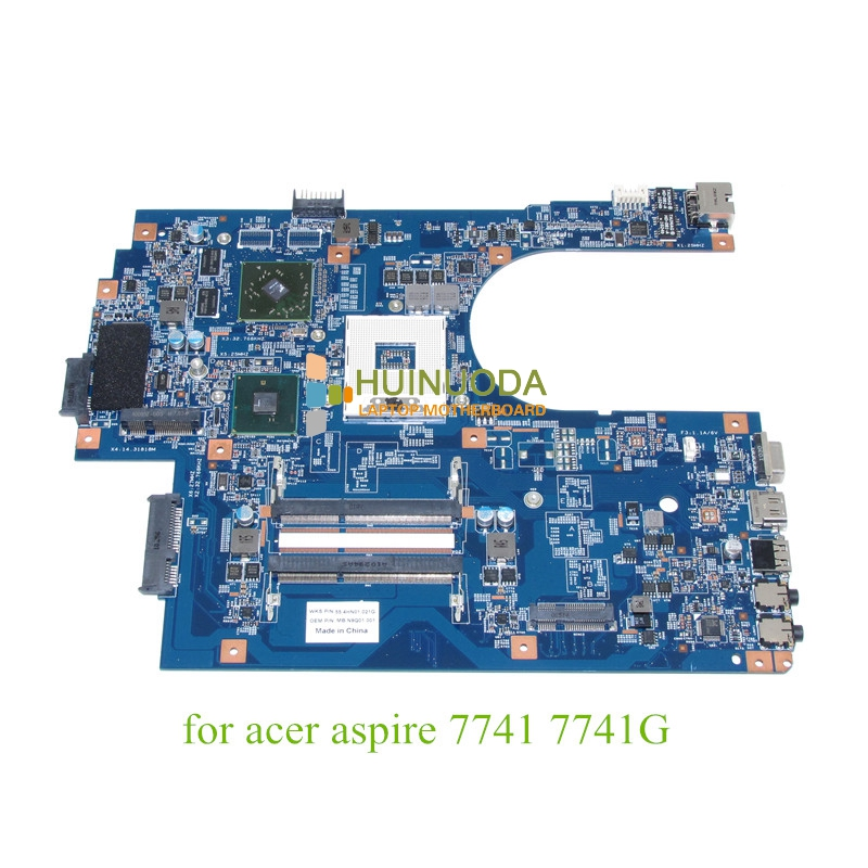 NOKOTION JE70-CP MB 09923-1M 48.4HN01.01M MB.N9Q01.001 For acer aspire 7741 7741G motherboard HM55 DDR3 ATI HD 5470 nokotion sps v000198120 for toshiba satellite a500 a505 motherboard intel gm45 ddr2 6050a2323101 mb a01