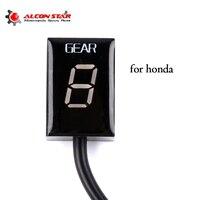 Alconstar Ecu Plug Mount 6 Speed Gear Display Indicator 1 6 Level Gear Indicator For Honda