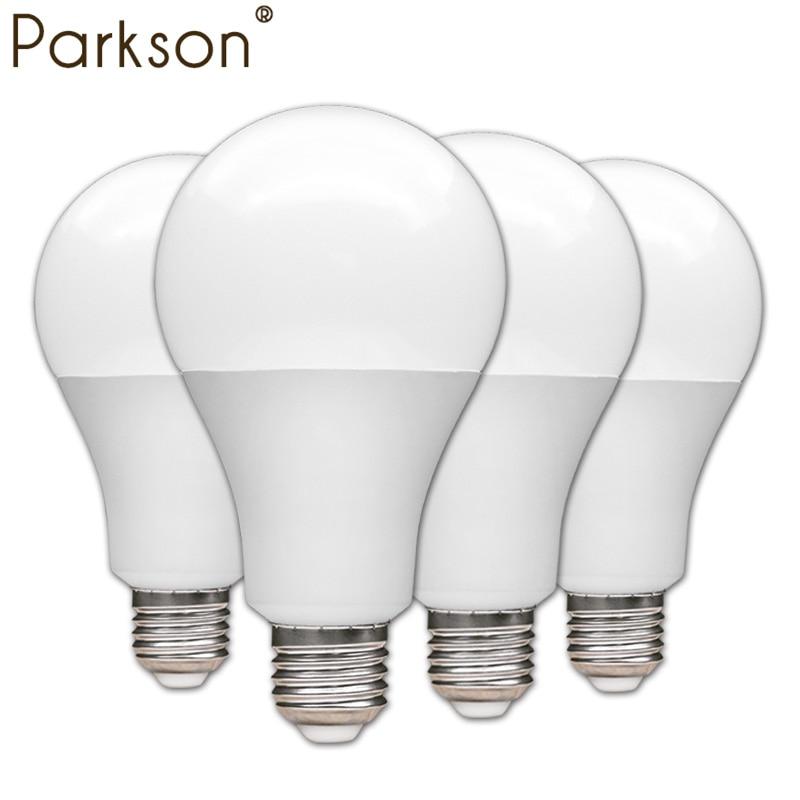 4pcs/lot LED Bulb Lamp E27 3W 5W 7W 9W 12W 15W 18W 110V 220V Lampada Ampoule Bombilla LED Bulb High Brightness LED Light SMD2835 runail лампа led а 18 18w