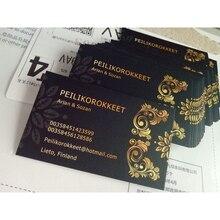 90X54 Mm 300gsm Wit Papier Met Beide Zijden Afdrukken Full Color Printing Business Card