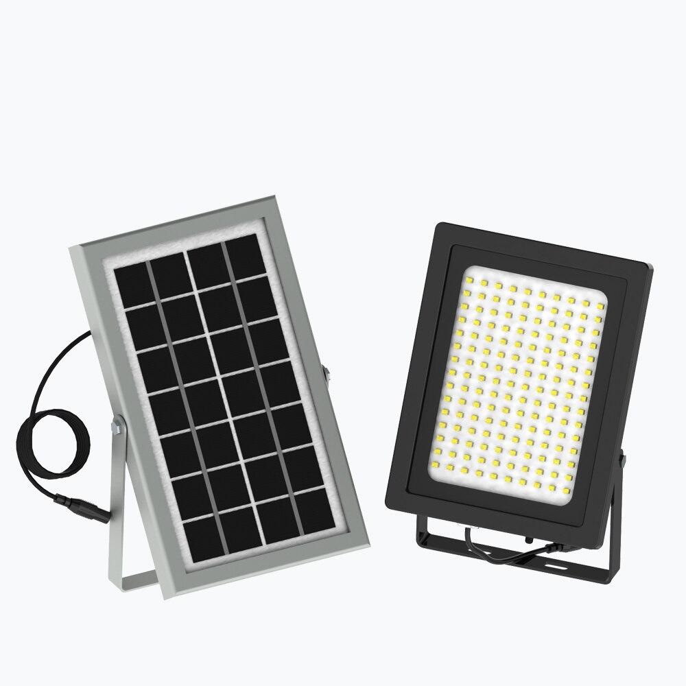 Led Flood Light With Night Sensor: 20W 150LED Solar Light Solar Powered Panel Floodlight