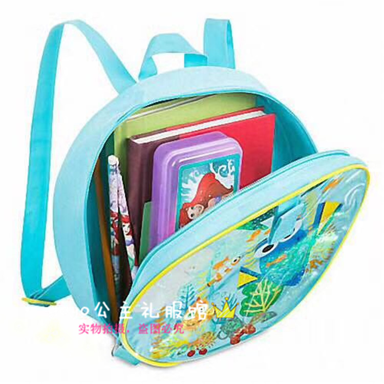 Cute Finding Dory Nemo Circular Backpack Cartoon Drift Sand Blue Sea Children School Bags For Boys S Kids Travel Bag In Backpacks From Luggage On