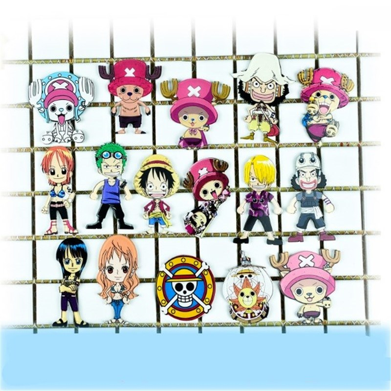 1PC One Piece Monkey D Luffy Chopper Acrylic Brooch Badge Pin Icon Japan Popular Anime Cosplay Game Role Accessories
