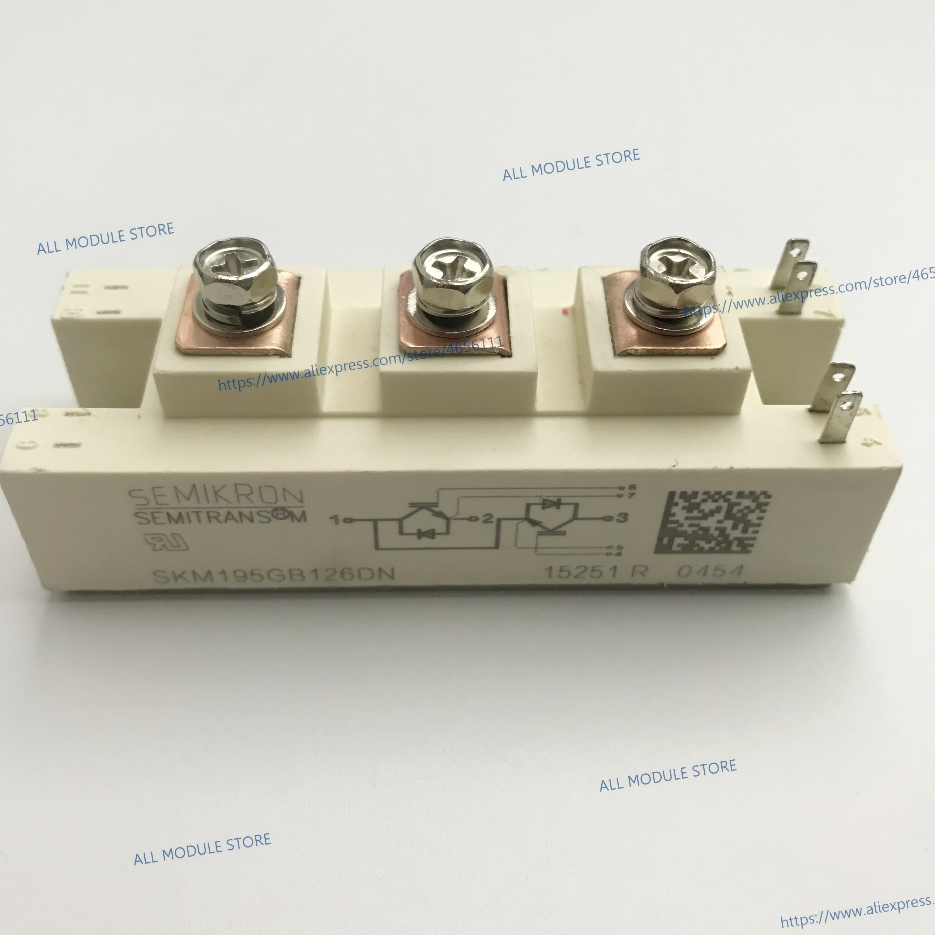 SKM195GB126DN FREE SHIPPING NEW IGBT MODULE