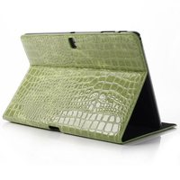 Luxury Crocodile Magnetic Stand PU Leather Protective Sleeve Cover Case For Samsung Galaxy Tab Pro 10