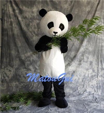 Costume de mascotte Panda géant chinois Costume de mascotte cosplay de noël livraison gratuite