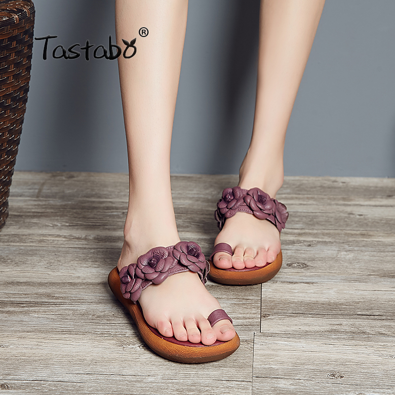 Tastabo Women Slides 2018 Fashion Slippers Platform Sandals Summer Bling Beach Slides Flip Flops Comfortable Flat Shoes