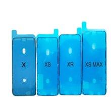 10sets lot genuine new a1418 lcd display tape adhesive repair kit for apple imac 21 5 strip glue foam sticker 2012 2017 year 1pcs Waterproof Adhesive Sticker For iPhone X XS XR XSmax LCD Display Frame Bezel Seal Tape Glue Adhesive 3M Repair Parts