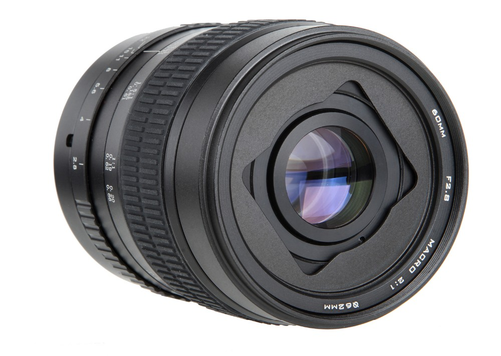 60mm f/2.8 2:1 Super Macro Manual Focus Lens for Canon EOS EF Mount 10d 750D 700D 600D 70D 5DII DSLR 2
