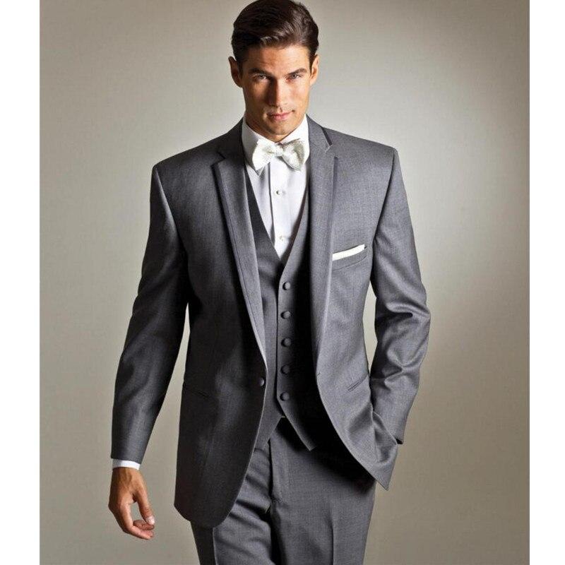 ᐃGentleman Style Tuxedos Custom Men\'s Suits Groomsmen Wedding ...
